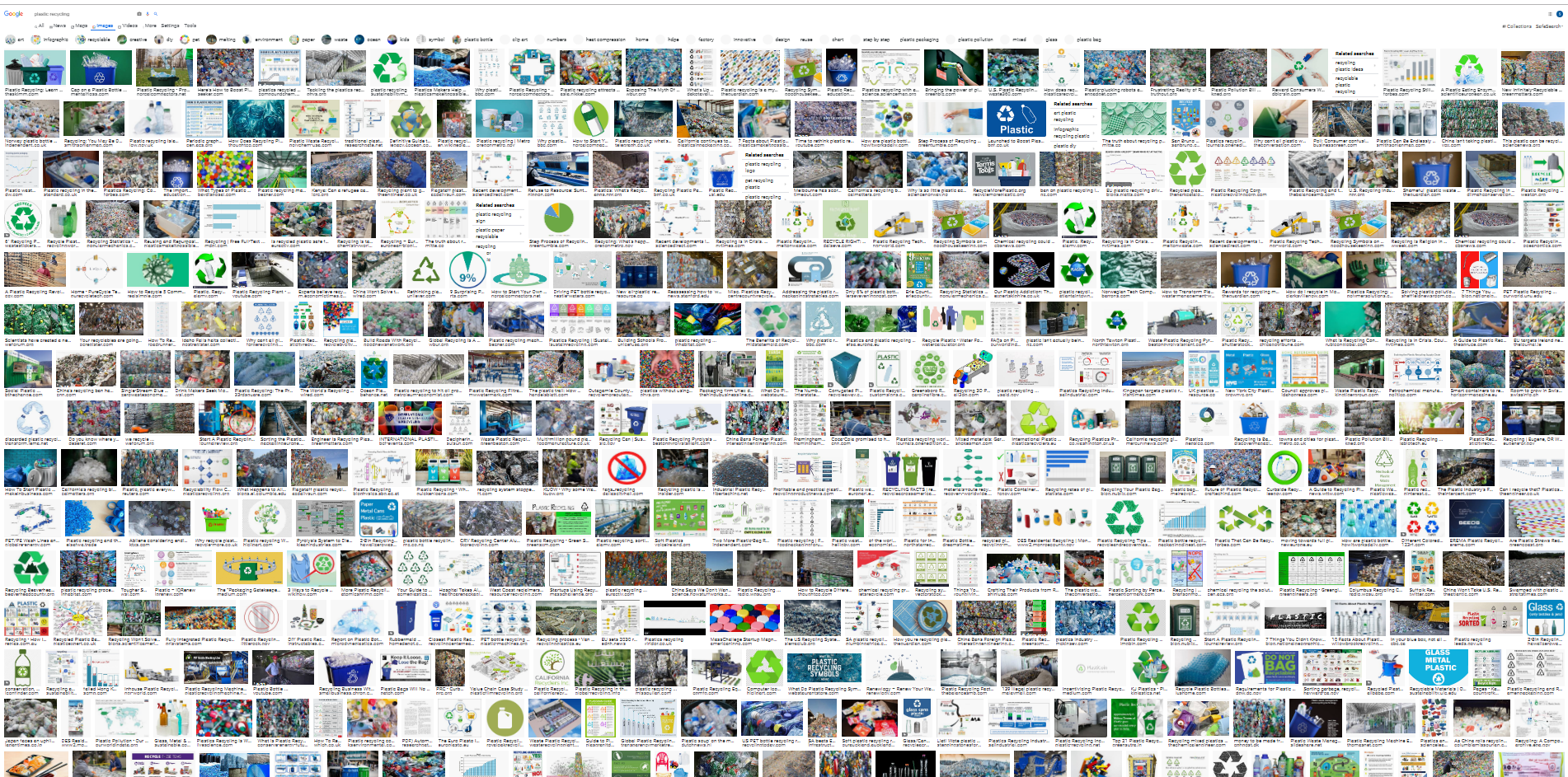 """""""Plastic Recycling"""" Image Search on Google Images"""