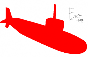 Freedom of motion for UUV