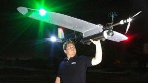 UAV and Drone Solutions monitoring aircraft