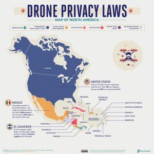 NORTH AMERICA: Drone Privacy Laws